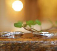 ミル打ちを入れた結婚指輪をフルオーダー