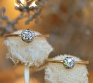 『まる』がテーマの婚約指輪