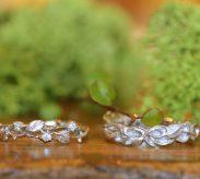 『植物』がテーマの結婚指輪