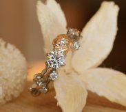 『薔薇』がテーマの婚約指輪