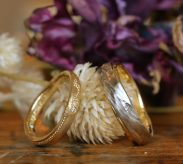 表面加工にこだわった結婚指輪