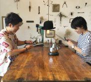 【ワークショップ】槌目と磨きのマリッジリング