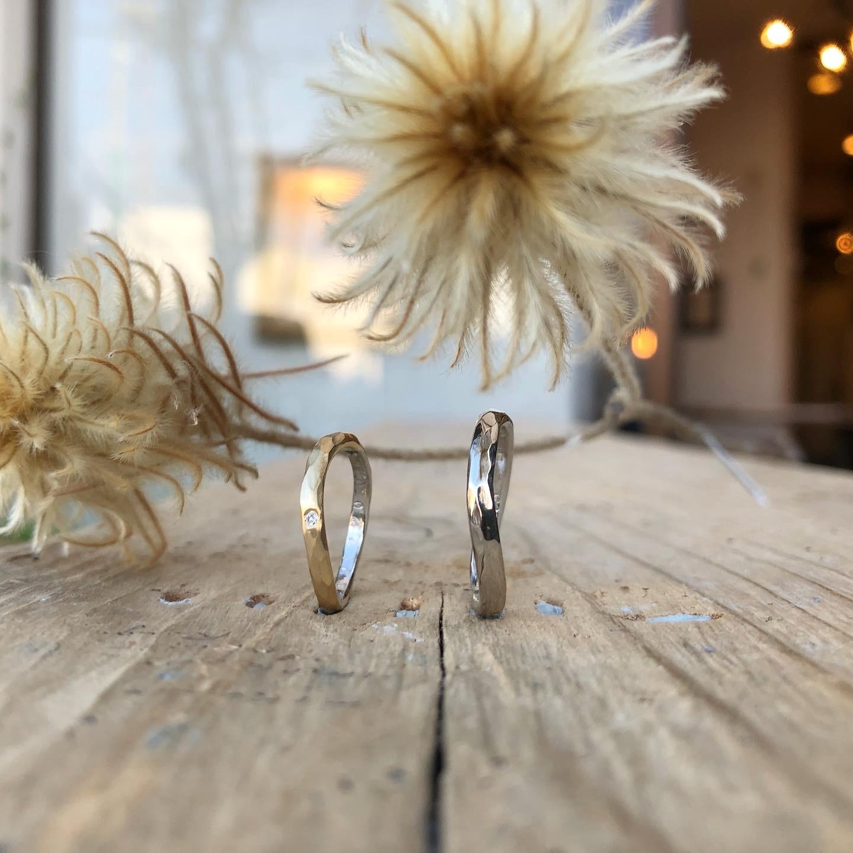 2人で作る手作り結婚指輪