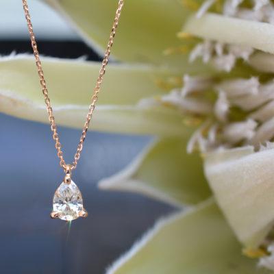 ペアシェイプのダイヤモンド