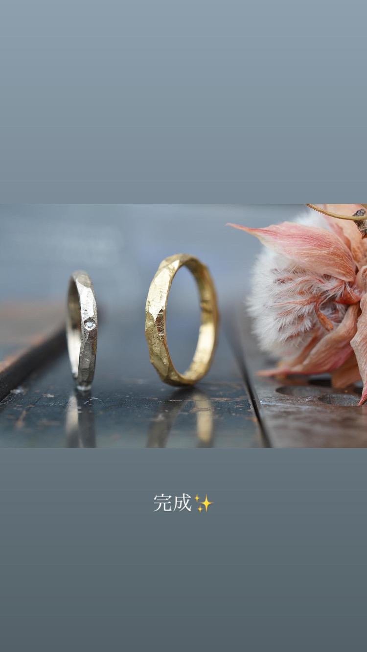 お2人で作る結婚指輪ワークショップ