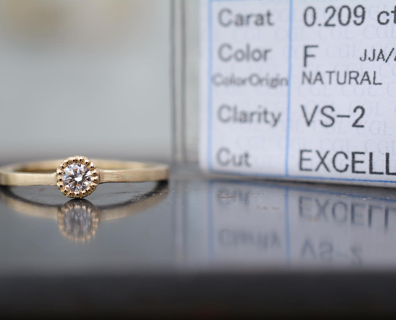 プロポーズと共に贈られるエンゲージ